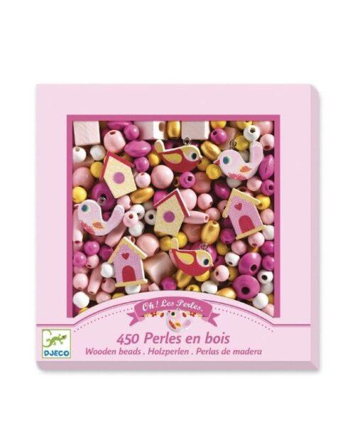 perle-legno-rosa-djeco