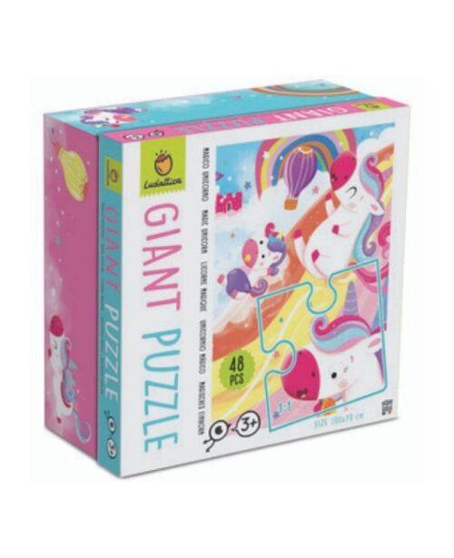 puzzle-gigante-unicorni-ludattica