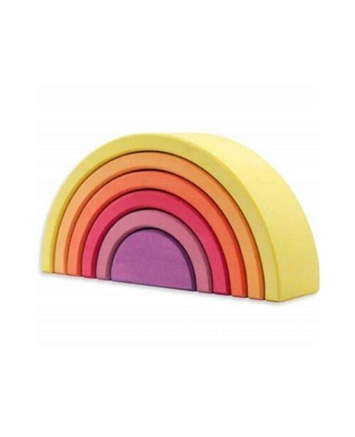 arcobaleno-legno-giallo-ocamora